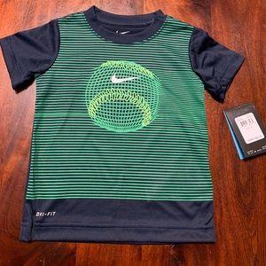 NWT Nike Baseball Green TShirt , Size 3T